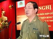 Le ministre de la Sécurité publique travaille à Binh Duong