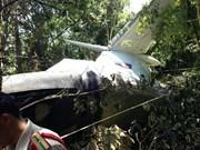 Un avion militaire du Laos s'est écrasé à Xiangkhouang