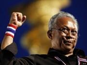 Thaïlande: Suthep se rendra si l'ultime coup d'éclat rate