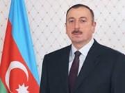 Le président azerbaijanais entame sa visite d'Etat au Vietnam