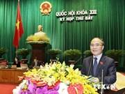 Ouverture de la 7e session de l'Assemblée nationale de la 13e législature