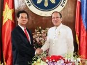 Entretien entre Nguyen Tan Dung et Benigno S. Aquino III