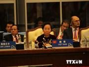 Mme Nguyen Thi Doan participe au 4e Sommet de la CICA à Shanghai