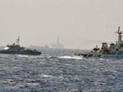 La Chine augmente sa flotte de navires autour de la plate-forme