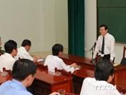 Le chef de l'État réitère le règlement pacifique des litiges