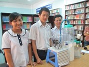 À HCM-Ville, les lycéens s'investissent dans des projets scientifiques utiles au quotidien