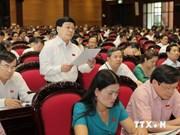 AN : Priorités aux projets de loi d'application de la Constitution