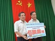 Poursuite des soutiens aux pêcheurs à Truong Sa et Hoang Sa