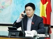 Mer Orientale : entretien téléphonique entre Pham Binh Minh et Catherine Ashton