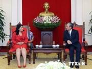 Une délégation de l'Union des jeunes communistes de Cuba au Vietnam