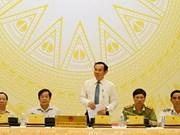 La Mer Orientale, sujet principal de la conférence de presse périodique du gouvernement