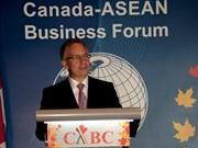 L'ASEAN et le Canada renforcent leur coopération au commerce