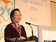 Le Vietnam au Sommet mondial des femmes