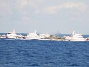 Encore plus de violence de la part des navires chinois