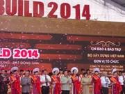 Ouverture du salon international Vietbuild de Ho Chi Minh-Ville 2014