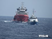 Les navires chinois continuent de repousser les navires officiels du Vietnam