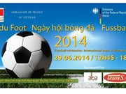 Tournoi de football amical ''Fête du Foot'' à Hanoi