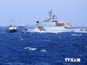 Les navires d'escorte chinois ne laissent pas de répit