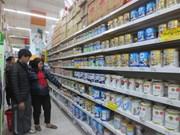 Stabiliser les prix du lait pour enfant