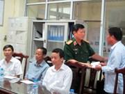 Accident d'hélicoptère Mi-171 : un général rend visite aux blessés