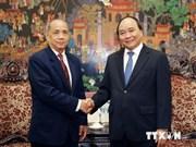 Un vice-PM vietnamien reçoit une délégation du Front laotien pour l'édification nationale