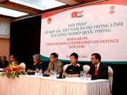 Vietnam et Inde promeuvent la coopération dans l'industrie de la défense