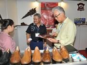 Belles perspectives pour les exportations de cuir et chaussures