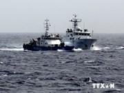 Protestation contre les actes chinois en Mer Orientale