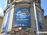 """Exposition """"L'Envol du dragon-Art royal du Vietnam"""" à Paris"""