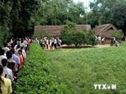 La colonie de vacances d'été 2014 se rend au village natal du Président Ho Chi Minh