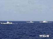 Les navires chinois perturbent les navires vietnamiens en mission