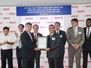 Bosch Vietnam reçoit la licence d'investissement pour son projet de Dông Nai