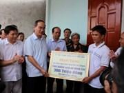 Le président du CC du Front de la Patrie se rend au district insulaire de Ly Son