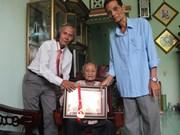 La doyenne du Vietnam a 121 ans