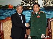Vietnam et Singapour renforcent leur coopération dans la défense