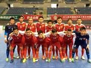 Futsal : le Vietnam remporte le 3e prix du tournoi de Hangzhou