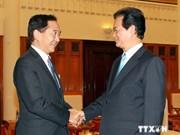 Le PM Nguyen Tan Dung reçoit le gouverneur de Kanagawa