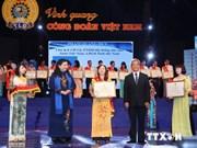Conférence des présidents de syndicat exemplaires à Hanoi