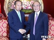 Nguyen Sinh Hung plaide pour les liens Vietnam-Japon