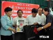 Le ministère de la Santé accompagne les pêcheurs de Ha Tinh