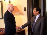 Pham Quang Nghi termine sa visite aux États-Unis