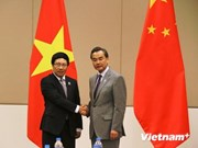 Rencontre entre les chefs de la diplomatie Vietnam-Chine