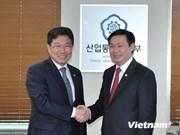 Une délégation vietnamienne en République de Corée