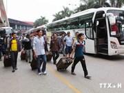 Plus de 1.000 travailleurs évacués de Libye sont retournés au Vietnam