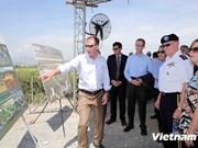 Les USA appuient la dépollution d'un site à Dà Nang