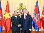 Le président de l'AN cambodgienne termine sa visite au Vietnam