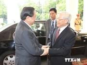 Approfondir la solidarité spéciale Vietnam-Laos