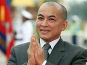 Le roi du Cambodge fait confiance au développement des relations avec le Vietnam