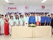 Canon mène des activités sociales à Bac Ninh et Bac Giang