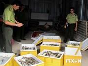 Consommation de produits dérivés d'animaux sauvages à Hanoi